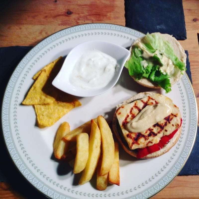 hallloumiburger